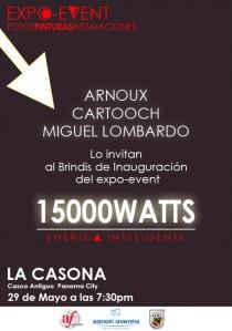 15,000 Watts Exposition