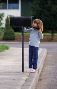 waiting for mail