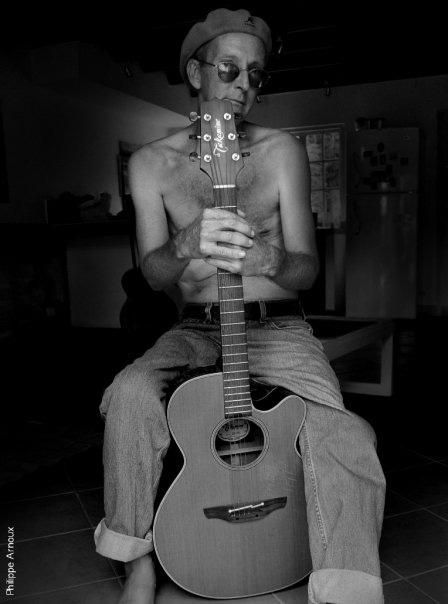 Musician Rich Kaminski, by Philippe Arnoux