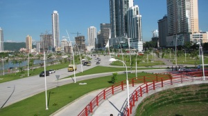 The New Cinta Costera in Panama City
